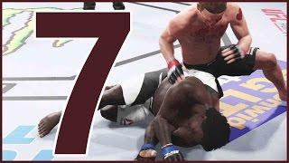 UFC 2 Career Mode Ep.7 - GOT A LITTLE TOO COCKY!! | UFC 2 Gameplay
