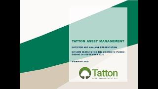 tatton-am-interim-results-investor-presentation-19-11-2020