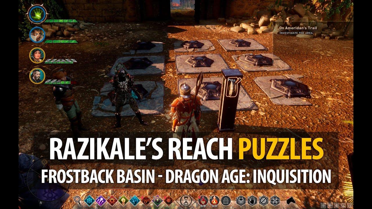 Frostback Basin Map - Jaws of Hakkon DLC - Dragon Age: Inquisition
