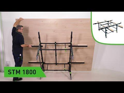 Plattenzuschnitt leichtgemacht - mit STM 1800, TSC 55 und FS-WA 90° (Festool TV Folge 173)