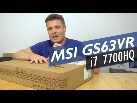 MSI Stealth Pro GS63VR 7RF Intel Core i7 7700HQ 1060 GTX Unboxing (Returned!)