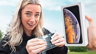 If You Can Break the iPhone... You Get A New One!