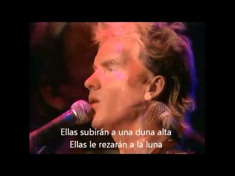 "THE POLICE ""Tea in the Sahara"" (live, 83) SUBTITULADO AL ESPAÑOL"