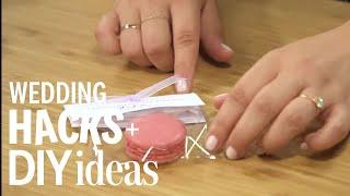Wedding DIY: Macaron Packaging Favor
