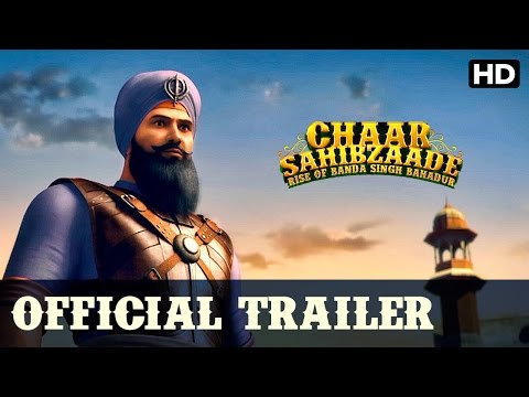 Chaar Sahibzaade Rise Of Banda Singh Bahadur Official Hindi Trailer