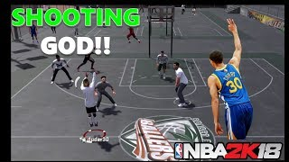SHOOTING GOD CANT BE STOPPED vol 1 NBA 2K18 !!! - SWAGGYRICE