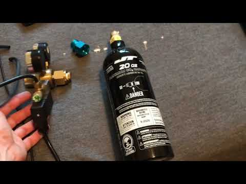 Paintball Tank CO2 System