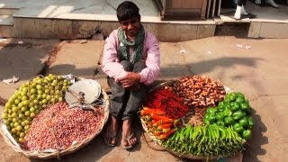 Street Vendor in Fancy Bazaar, Assam