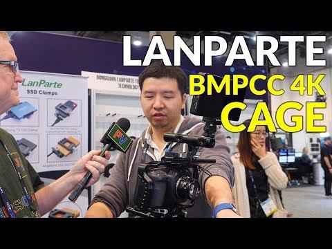 Lanparte BMPCC 4K Improved Camera Cage