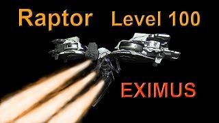 Warframe: Level 100 RAPTOR Boss EXIMUS Sortie - solo