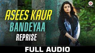 Bandeyaa - Reprise | Asees Kaur | Jazbaa | Aishwarya Rai Bachchan & Irrfan | Amjad - Nadeem