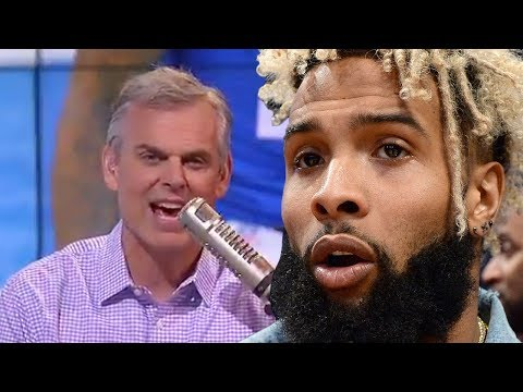 Odell Beckham Jr EXPOSES Colin Cowherd With Private Text Messages!