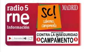 preview picture of video 'ENTREVISTA RADIO5 Madrid, martes 25 junio 2013 (Campamento)'