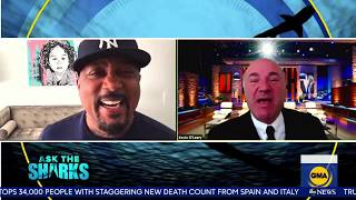 The Advice Every Small Business Owner Needs to Survive Covid19 | Daymond John & Kevin O'Leary on GMA