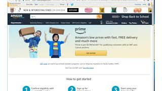 STUDENTS! Get Amazon Prime for FREE for 6 Months