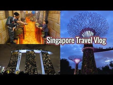 Singapore with Kids! // Sentosa Island & Gardens by the Bay
