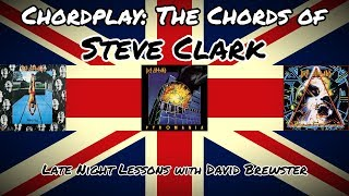 Chordplay - 'The Chords of Steve Clark'