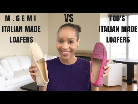 Battle of the Loafers | TOD'S VS M. GEMI | Italian Made Shoes