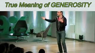 True Meaning Of GENEROSITY   100 Days Motivation   Motivational Guide
