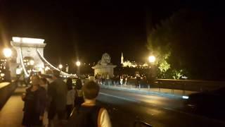 Вот такой ночной Будопешт, светло и очень красиво