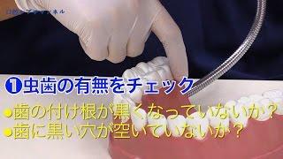 口腔内観察の手順
