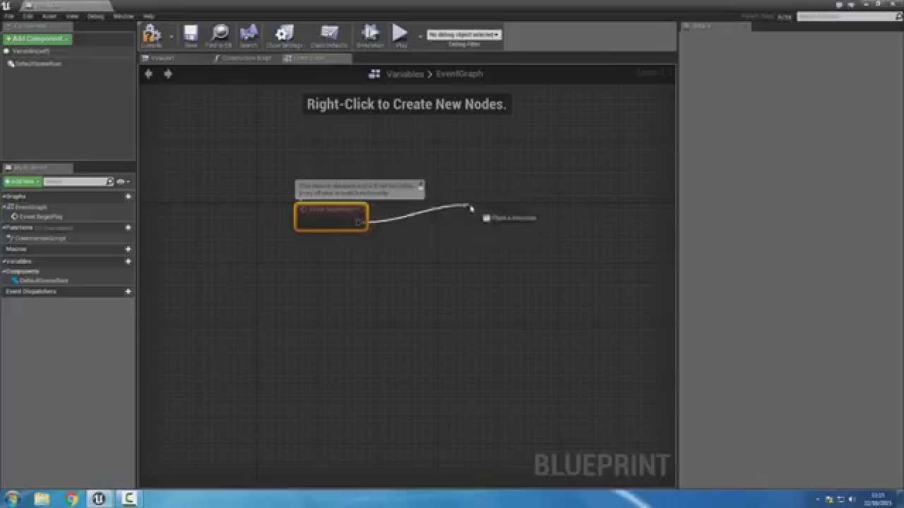 UE4 Tuto Fr - Blueprint variables