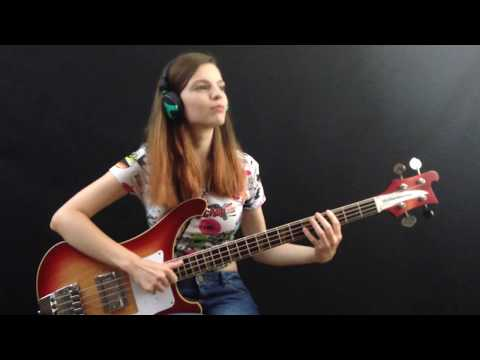 Red Hot Chili Peppers - Goodbye Angels [BASS COVER]