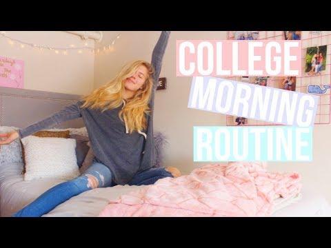 college morning routine // vlogmas 9
