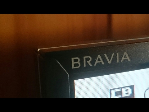 Sony Bravia KDL32WD753 - Speakers test