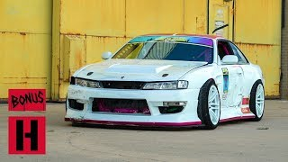 500HP LS3 Swapped S14 Shreds Texas Donut Hanger