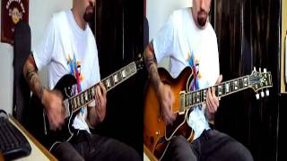 Foo fighters - Everlong guitar medley cover