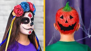 9 Kiểu Tóc Dễ Thương Cho Trẻ/Làm Tóc Ngày Halloween