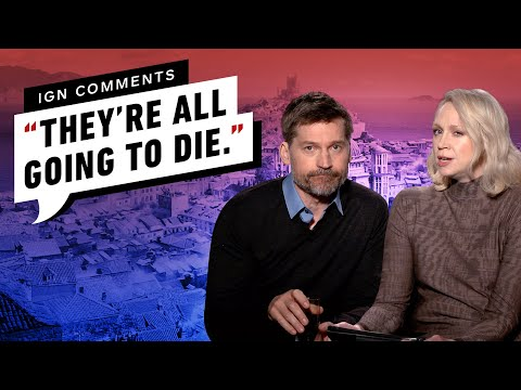 , title : 'Game of Thrones' Brienne and Jaime Respond to IGN Comments'
