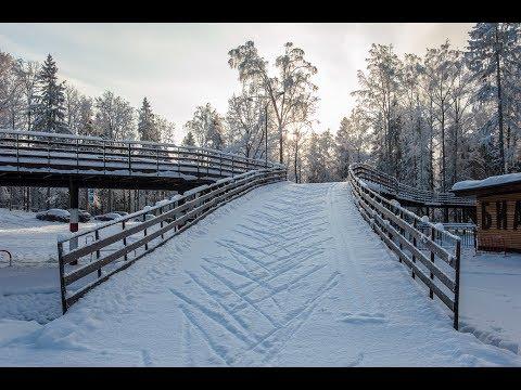 Зимняя панорама парк-отель Пересвет