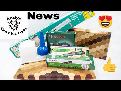 News - Verlosung, Schneidbretter verkauft, Werkzeug Test Kanal untersützen?