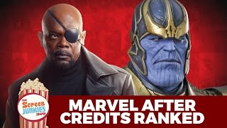 Best MCU After Credits Scenes Ranked! by Screen Junkies