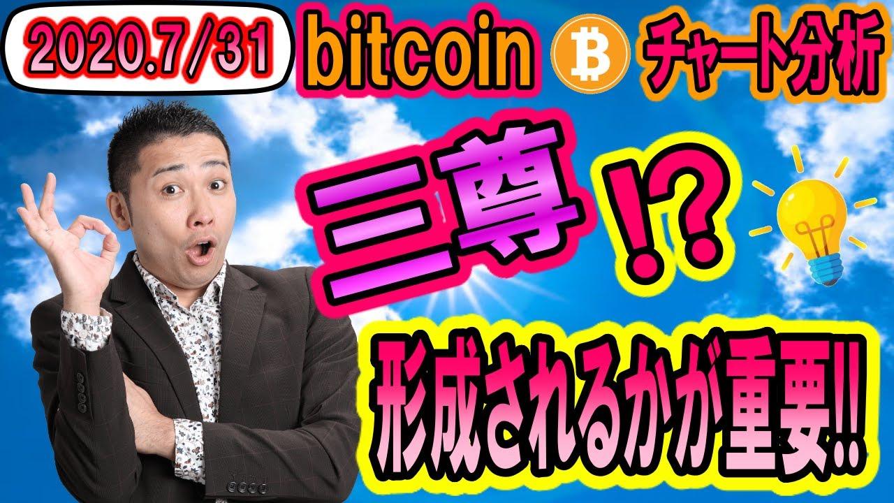 【仮想通貨】ビットコイン相場分析 三尊(オリバチャート)形成されるかが重要ポイントか!? #ビットコイン #BTC #仮想通貨