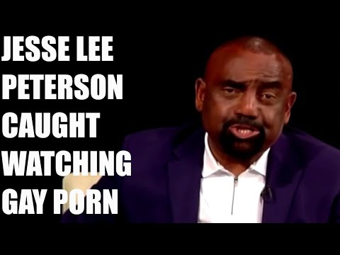 SHOCK: Jesse Lee Peterson Favorites Gay Porn Video On Twitter, Then LOCKS His Account!