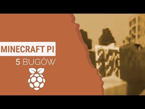 5 bugów w Minecraft Pi!