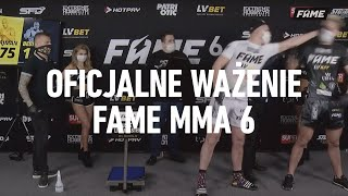Film do artykułu: Fame MMA 6 - WYNIKI WALK...