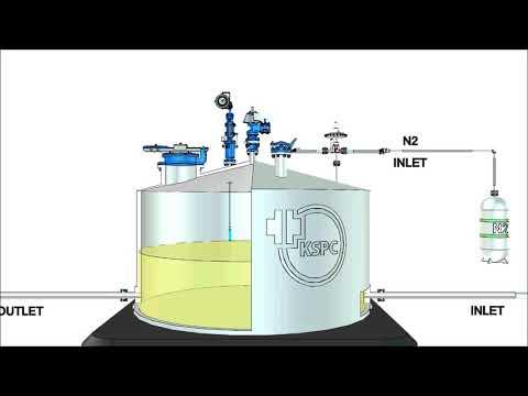 Nguyên lý hoạt động của thiết bị đo mức và lấy mẫu của KSPC Hàn Quốc, KSSD Operating