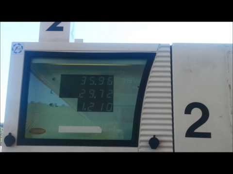 Der Toyota korolla das Benzin