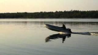 лодка пвх Флагман 420 выход на глиссер