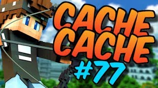 CACHE CACHE SUR MINECRAFT ! MAP VILLE 3 ! EPISODE 77 !
