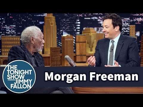 Morgan Freeman Snores During Jimmy's Driving Miss Daisy Story