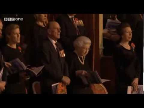 Royal british legion festival of remembrance 2013 3 cheers for her majesty the queen mp3