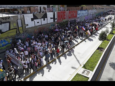 Desde estos 16 puntos en Bogota partiran las marchas del paro nacional