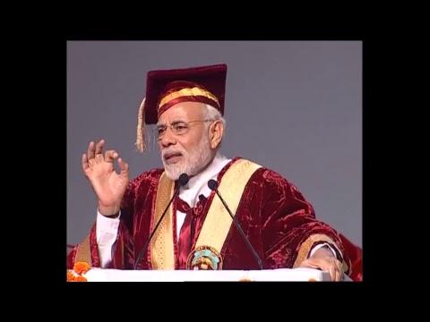 PM Modi attends Convocation of Sher-E-Kashmir University, Jammu