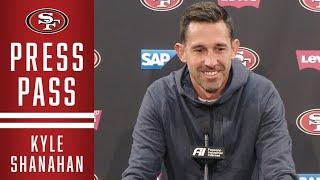 Kyle Shanahan Reviews High-scoring Win vs. Saints | 49ers