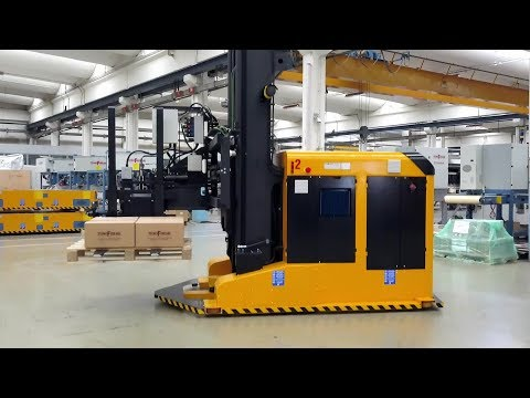 Automated guided vehicles (AGVs) - Tecnoferrari rely on ifm vision sensors